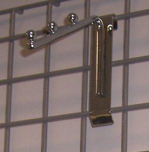Abhänger für Gitter mit Kugel